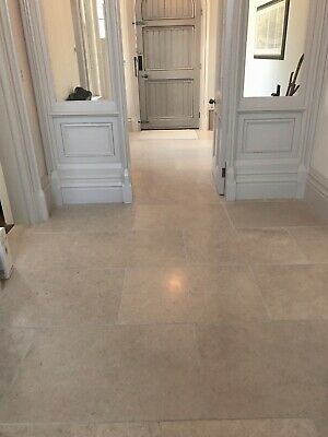£0.99 • Buy Cathedral Antique Tumbled Limestone Tiles And Stone Flooring.