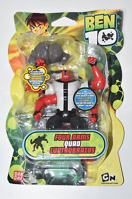 Ben 10 Action Figure 4  Inch Bandai Four Arms Quad 2007 Toy NEW Minor Box Damage • 27.99£