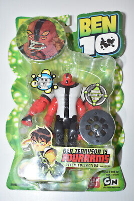 Ben 10 Action Figure 4  Inch Bandai Four Arms 2007 Toy NEW Box Damage Free Post • 27.99£