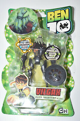 Ben 10 Action Figure 4  Inch Bandai Vilgax 2007 Alien Toy NEW Minor Box Creasing • 25.99£