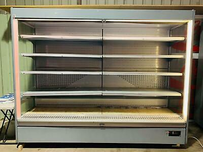 Multideck Display Fridge/ Dairy Cabinet  2,60m Long Great Condition  • 850£