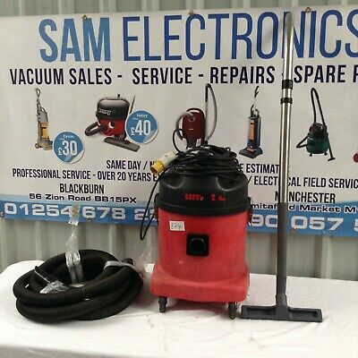 Numatic NVQ570 Twin Motor 110v Industrial Vacuum Cleaner Hoover Dry Vac • 125£