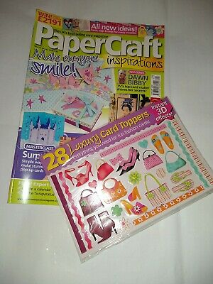 £4 • Buy PaperCraft Inspirations Magazine Issue No. 43 January 2008 With The Free Gift