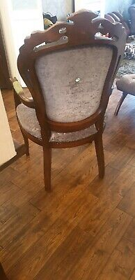 Antique  French Style Dinning Chairs And Carvers • 500£