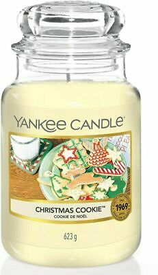 Yankee Candle Scented | Christmas Large Jar Candle, Cookie • 46.49£