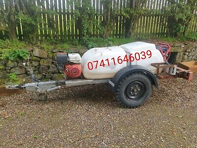 Honda Towable Pressure Washer Bowser 200bar With Hoses Reel Trailer • 2,000£