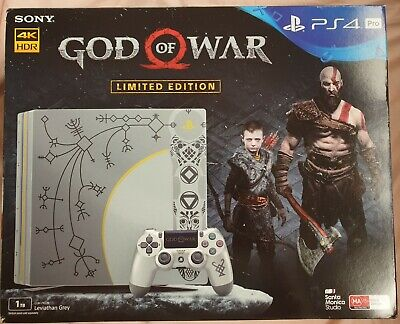 AU550 • Buy Console PS4 PRO 1TB God Of War Limited Edition  🇦🇺 Collector - Preowned