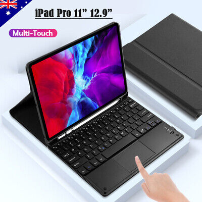 AU65.95 • Buy For IPad Pro 11  12.9  2020 Bluetooth Touchpad Keyboard Case Cover Pencil Holder