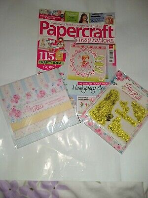 £4.25 • Buy Papercraft Inspirations Magazine Issue No. 126 June 2014 With The Free Gifts
