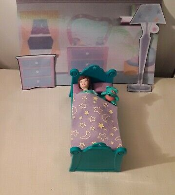 2003 Polly Pocket, Pajama Jam Lila, Play Set-Excellent Condition- Used • 9£