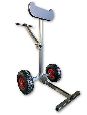 AU331.98 • Buy Outboard Boat Motor Carrier Cart Stand Trolley Heavy Duty Foldable Free Shipping