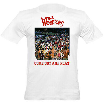 Urban Shaolin Men's The Warriors Movie Inspired Fitted T Shirt, White • 9.99£