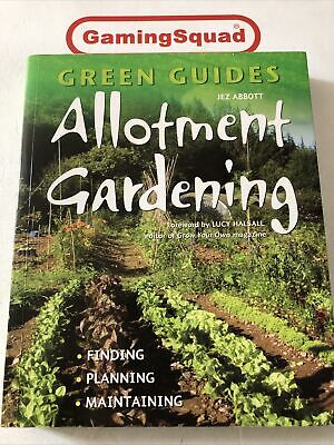 Allotment Gardening, Jez Abbott PB Book, Supplied By Gaming Squad • 3.95£