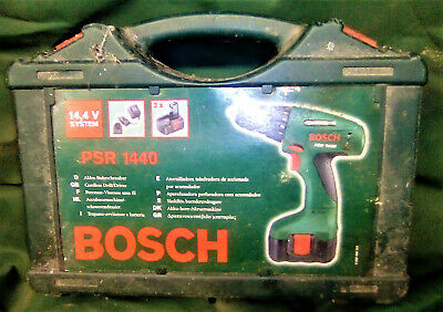 Bosch PSR 1440 Rechargeable Battery Powered Drill Driver Used NO CHARGER • 25£
