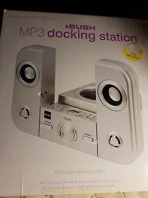 Bush Docking Station For IPod And CDs, Double Speakers (new) Great Sound.. • 20£