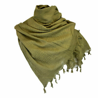 Shemagh Scarf Combat Army Style Camping Sport Neck Warmer Keffiyeh Scarves Olive • 8.90£