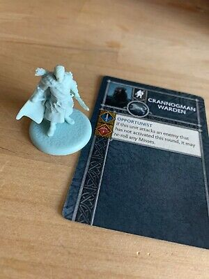 A Song Of Ice And Fire Miniatures Game - Stark Crannogman Warden KS Exc ASOIAF • 8.99£