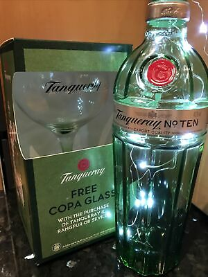 Tanqueray Gin Glass Copa Large Glass Boxed Home Drinking Gift New Collectable • 5.95£