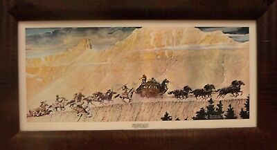 $ CDN196.36 • Buy Norman Rockwell  STAGECOACH  Framed Art Picture