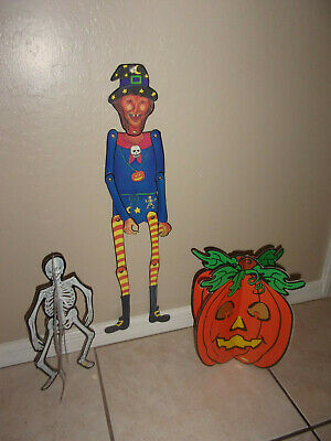 $ CDN39.63 • Buy Vintage Halloween Witch Centerpiece Lot Good Condition