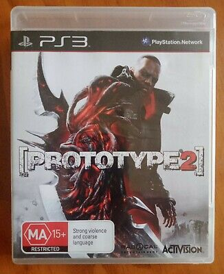 AU9 • Buy Prototype 2 PS3 Playstation 3 Game (2012) VGC Free Postage