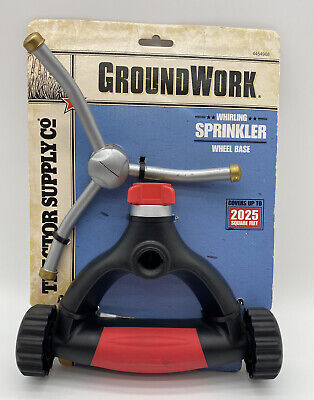 AU17.30 • Buy Tractor Supply Ground Work Whirling Sprinkler Wheel Base NEW 4454968