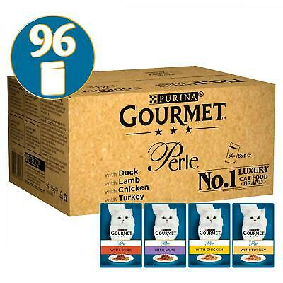 Gourmet Perle Mixed Selection Cat Food Mega Packs | Cats • 46.24£