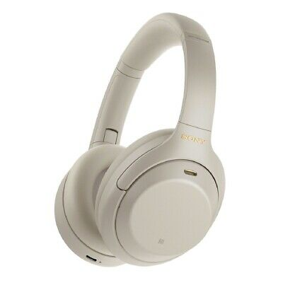 Sony WH-1000XM4 Wireless Noise-Canceling Over-Ear Headphones - Silver • 262.90£