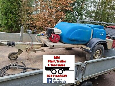 Honda Towable Pressure Washer Bowser 140bar New Hose And Lance Western Trailer • 1,800£