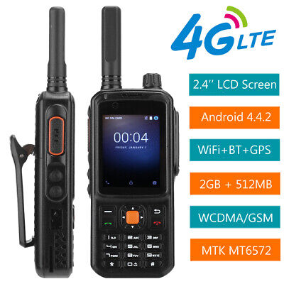 $ CDN136.40 • Buy Android 2.4  4G LTE Smart Walkie Talkie Two Way Radio Mobile Phone Smartphone