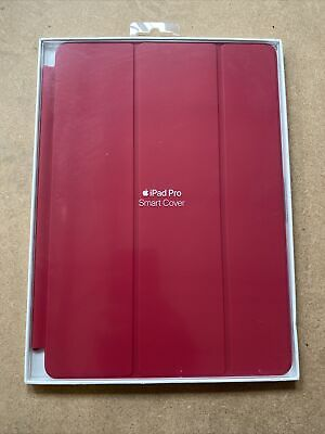 """GENUINE Apple IPad Smart Cover Pro 10.5"""" / Air 3 / 7th Gen 10.2 ROSE RED • 19.95£"""