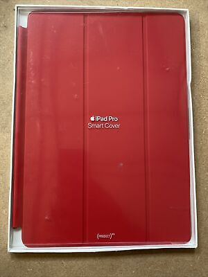 """GENUINE Apple IPad Smart Cover Pro 10.5"""" / Air 3 / 7th Gen 10.2 Product RED • 19.95£"""
