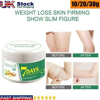 Fast Ginger Fat Burning Anti-cellulite Slimming Cream Gel Weight Loss Full Body • 4.59£