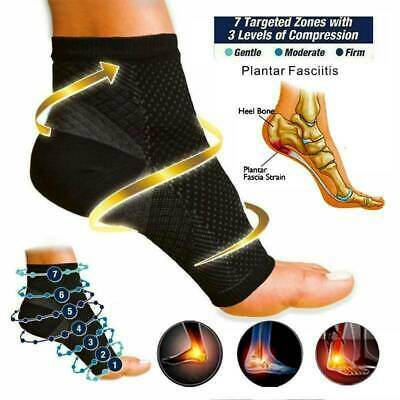 UK Plantar Fasciitis Socks Compression Foot Arch Support Pain Ankle Relief • 3.25£