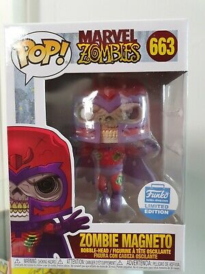 Funko Pop! Zombie Magneto | Funko Shop Exclusive + Protector | In Hand Now • 35£