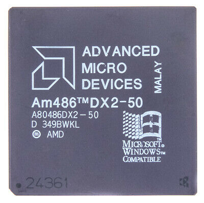 AU71.03 • Buy Intel Am486 Dx2-50 Pga168 50mhz A80486dx2-50