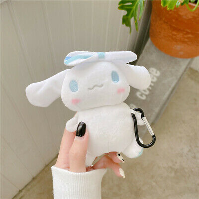 AU15.70 • Buy For Apple Airpods Hooks Cute Cinnamoroll Plush Earphone Case 3D Cartoon Dog Doll