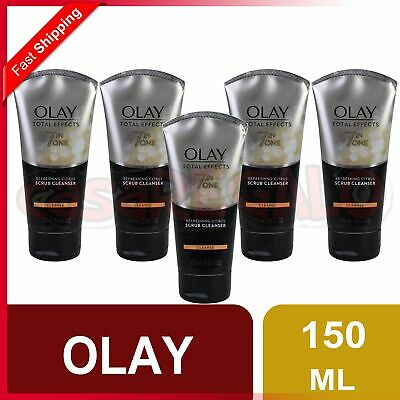 AU16.12 • Buy OLAY 150mL TOTAL EFFECTS 7 IN ONE CITRUS SCRUB CLEANSER