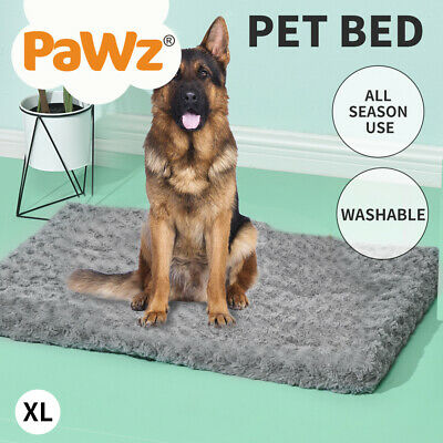 AU36.99 • Buy Pet Bed Dog Beds Bedding Soft Warm Mattress Cushion Pillow Mat Plush Velvet XL
