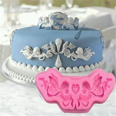 3D Mini Framed Cameo Icing Silicone Mould Sugarcraft Cake Decorating Tool HY • 2.92£