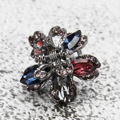 £2.33 • Buy Women Butterfly Flower Hair Clips Claw Rhinestone Crystal Sparkly Hair Clip RE