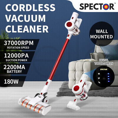 AU199.99 • Buy 180W Handheld Vacuum Cleaner Cordless Stick Bagless Rechargeable Wall Mounted