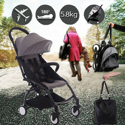 AU118.99 • Buy Lightweight Baby Stroller Pram Compact Foldable Pushchair Travel Carry-on Plane