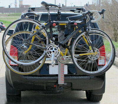 AU339 • Buy YAKIMA Highlite3 Bicycle Rack #8002436, 2  And 1-1/4  Hitch Rear Bike Carrier