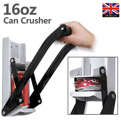 16oz Can Crusher / 500ml Beer Tin Bottle Opener Kit Wall Mounted Recycling Tool • 7.59£