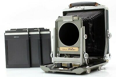 【Near MINT】 WISTA Rittreck View 4x5 Large Format W/ 3 Cut Film Holder From JAPAN • 250.64£