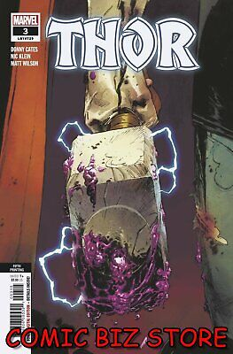 Thor #3 (2020) 5th Printing Bagged & Boarded Marvel Comics Variant Cover • 3.65£