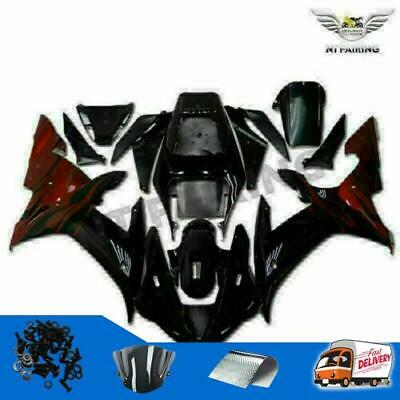 $579.99 • Buy Fairing Fit For Yamaha R1 YZF 2002-2003 Black Injection ABS Plastic Kit X042