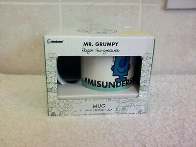 Mr. Grumpy Mug #MISUNDERSTOOD By Paladone | Mr Men Gift Unused • 5.50£