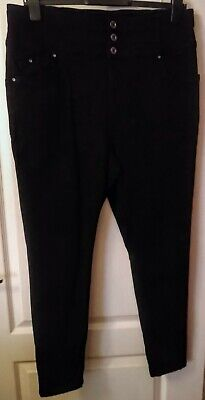 Simply Be Size 20 Shape & Sculpt High Waist Skinny Black Jeans Barely Worn  • 15£
